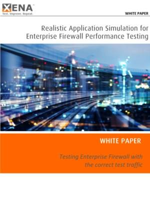 Realistic Application Simulation for Enterprise Firewall Performance Testing