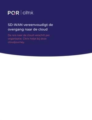 SD-WAN vereenvoudigt de overgang naar de cloud
