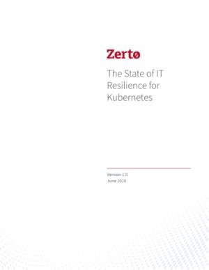 The State of IT Resilience for Kubernetes