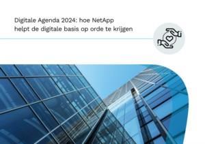 Digitale Agenda 2024: hoe NetApp helpt de digitale basis van uw gemeente op orde te krijgen