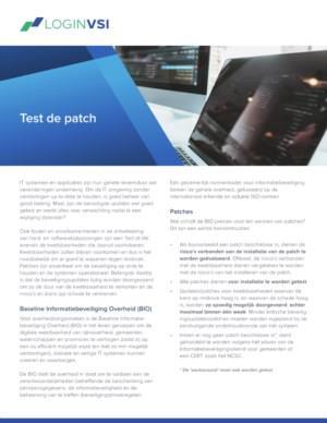 Test de patch