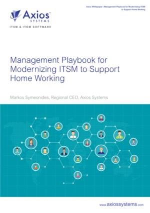 Het Management Playbook voor het moderniseren van ITSM ter ondersteuning van het thuiswerken