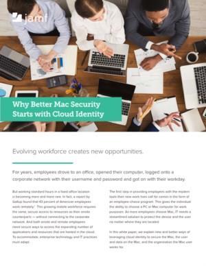 Waarom betere Mac-beveiliging begint met Cloud Identity