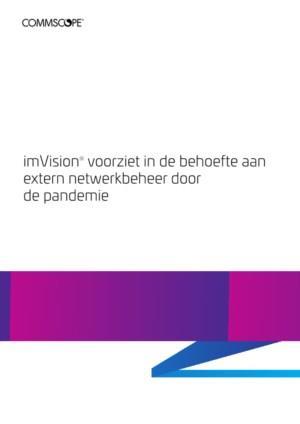 imVision® voorziet in de behoefte aan extern netwerkbeheer door de pandemie