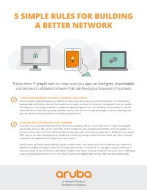 5 eenvoudige regels voor het opbouwen van een beter netwerk