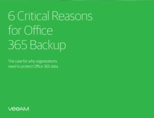 6 Kritische redenen voor een eigen Office 365 Back-up
